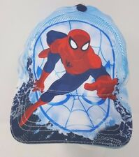 New Kids MARVEL Avengers Spider-Man Blue White Graphic Baseball Cap One Size