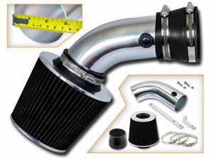 Short Ram Air Intake Kit +BLACK Filter for 93-01 540i 740i 740iL V8 4.0L 4.4L V8