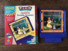 Pico Sega Game Cartridge Pocahontas Riverbend Adventures 1994 Vintage 90s Gaming