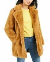 $245 NEW Apparis Women's Eloise Faux-Fur Coat Beige Winter Jacket Collar Size M