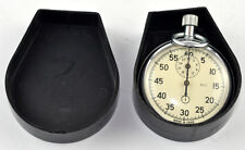STOP WATCH AGAT CHRONOMETER MILITARY SOVIET RUSSIAN MADE in USSR CCCP WORKING