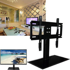 """Universal TV Base for 37""""-55"""" LCD/LED/Plasma Tabletop Wall Mount Stand Bracket"""