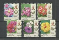 MALAYSIA 2018 GARDEN FLOWERS (PERAK) U/M N/H LOT 2920B