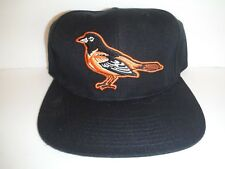 Baltimore Orioles NEW Vintage Snapback Hat American Needle MLB Black Cap