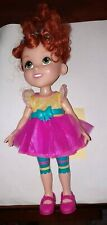 Disney Jr. My Friend Fancy Nancy Poseable Doll in Tutu Outfit Curly Red Hair