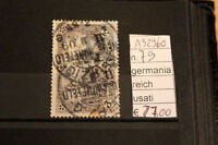 STAMPS GERMANIA REICH USATI USED N. 79 (A32960)