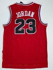 Michael Jordan #23 Chicago Bulls Red Jersey Men Size L Large Free ShipReturn