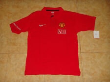 Manchester United Soccer Polo Shirt Nike England Football Leisure Trikot NEW  L