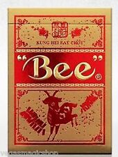 Year of the Goat Kung Hei Fat Deck Bee Playing Cards Poker Size USPCC Star Ed.