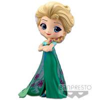 Official Disney Frozen Elsa Surprise Ver. A Q Posket Figurine 85498 Banpresto