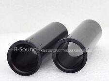 """2pcs Speaker Port Tube Subwoofer Vent Inverter Tube For 3""""- 5"""" Speakers 26x95mm"""