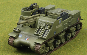 Hobby Master HG4702 1/72 M7 Priest French Army 2nd Tank Div, Normandy July 1944