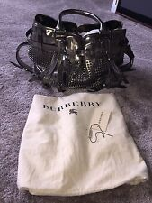 Burberry Prosum Rock Metal Studded Mirror Large Bag Rrp £2650.00