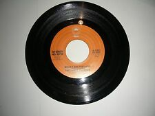 """The Three Degrees - What I Did For Love  45 rpm 7""""  Vinyl  Epic Records VG+ 1976"""