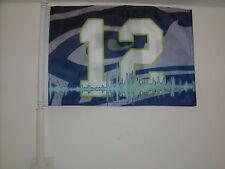 12th Man Seattle Seahawks Car Flag Hi-Way Strong