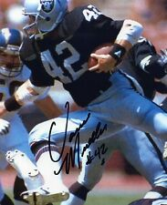 1- VANCE MUELLER OAKLAND RAIDERS 8X10 PRINT AUTO PHOTO