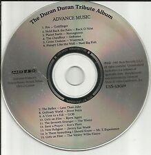 DURAN DURAN Tribute ADVNCE DJ PROMO CD w/ DEFTONES Reel Big Fish JIMMY EAT WORLD