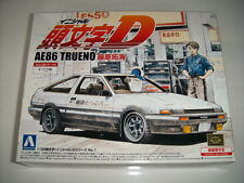 NEW AOSHIMA Initial D AE86 Trueno Takumi Fujiwara 1/32 Scale PLASTIC MODEL KIT