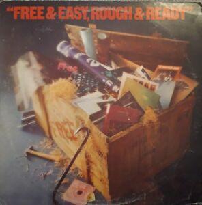 Free 'Free 'N Easy, Rough 'N Ready' Vinyl LP 1976