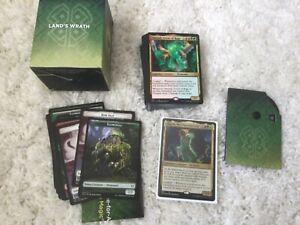 Mtg Lands Wrath commander deck