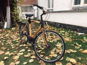 Bambus Fahrrad Holz Fahrrad 7Gang 28Zoll