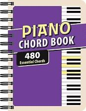 Piano Chord Book: 480 Essential Chords (Spiral Bound, Comb or Coil)