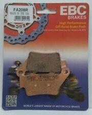 """KTM SX 520 01 al 03 EBC """"R"""" pastiglie freno posteriore sinterizzate FA208R 1 Set"""