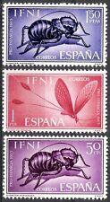 Colonias españolas Ifni 1965 bienestar infantil fauna autóctona 212 - 214 estampillada sin montar o nunca montada Fino
