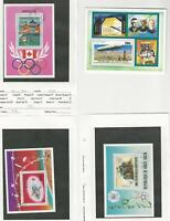 Burkina Faso, Postage Stamp, #C233, C237, C240, C244 Used Sheets. 1976