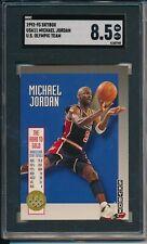 MICHAEL JORDAN 1992-93 SKYBOX US OLYMPIC TEAM #USA11 GRADED SGC 8.5