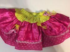 Lalaloopsy Jewel Sparkles Girl Fantasy Play Halloween Costume Skirt Girl Sz: 3/4