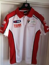 2014 Ducati World Superbike Team Issue Diadora Polo Camisa L Panigale Sin Uso