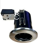Fire Rated Mr16 Downlight  IP20 Recessed Ceiling Spots JCC in Brushed Nickel x1