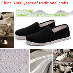 Kung Fu Shoes Slippers Tai Chi Pumps Cotton Sole Kids Adults Martial Arts Karate