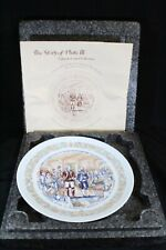 New ListingLimoges Collector Plate Iii Marquis de Lafayette Washington Hand Painted Nib