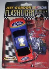 Jeff Gordon No. 24 DuPont Flames Flashlight Keychain