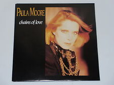45 tours SP - PAULA MOORE - CHAINS OF LOVE - 1986