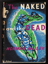 Norman Mailer - The Naked and the Dead - 1st/1st UK 1949, Original DW - Wingate