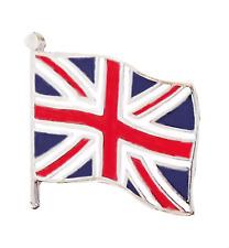 Reino Unido Gb Union Jack Bandera Ondeante Prendedor Pin