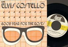 """ELVIS COSTELLO Good Year for the Roses 7"""" SINGLE Your Angel Steps out of Heaven"""