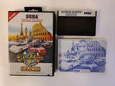 Out Run Europa   SEGA Master System PAL UK   Complete