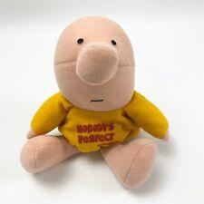 Ziggy Plush Beanbag Nobodys Perfect Vintage Doll 8 in Yellow KNICKERBOCKER RARE