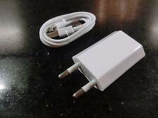 1x enchufe/cargador 5v-1000ma & 1x Lightning cable USB para iPod Nano 6g
