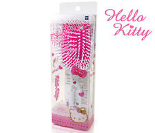 Hello Kitty Square Cushion Hair Brush Styling Curling White HK077 Plastic