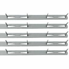 """14"""" Upholstery Metal Tack Strips- 5pk w/ Instructions"""