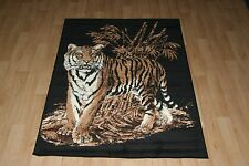 Quality Large Tiger Print Rug 120cm x 170cm Tiger Jungle Safari Animal Print