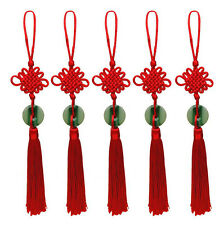 Red Tassel Chinese Knotted Handmade Hanging Jewelry Craft For Car Bag Decor New