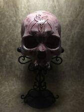 Mandalorian Oath Skull Real Human Skull Replica Carved By Zane Wylie - Pre-Order
