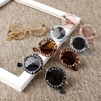 New Infant Kids Baby Girls Boys Fashion Sunglasses Letter Solid Hot Sun Glasses