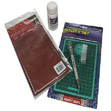Re-usable Glass Etching Stencil Kit - Everything you need to etch glass